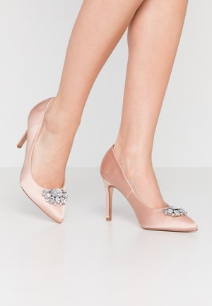 GRAZIE JEWEL COURT - High heels - blush