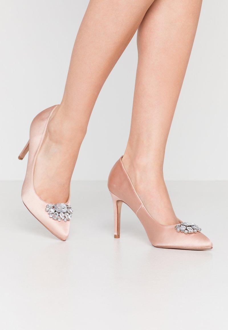 Dorothy Perkins - GRAZIE JEWEL COURT - High heels - blush