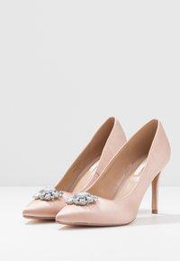 Dorothy Perkins - GRAZIE JEWEL COURT - High heels - blush - 4
