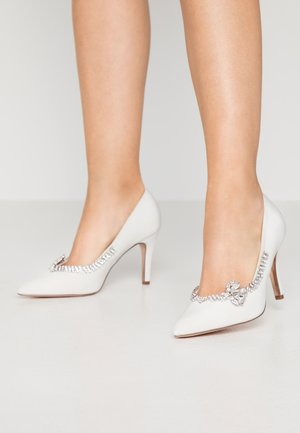 GENTLE BUTTERFLY TRIM COURT - High heels - white
