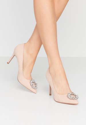 GLADLY POINTED TRIM COURT - High heels - nude