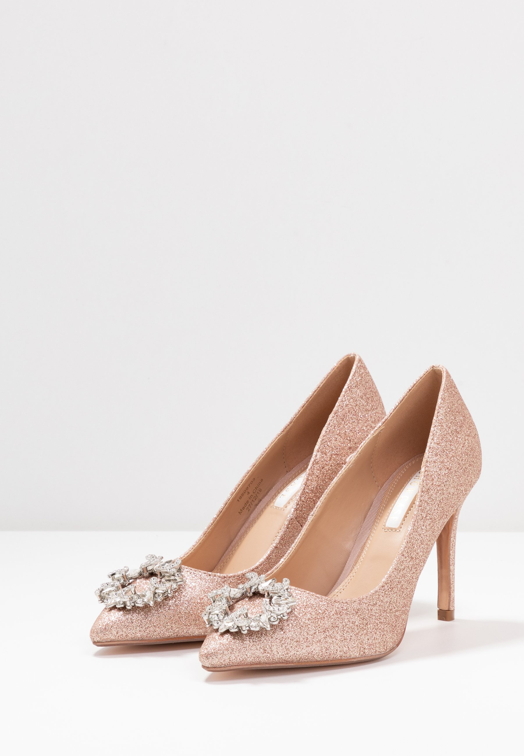 Dorothy Perkins GLADLY POINTED TRIM COURT - Decolleté - pink hfZF967N