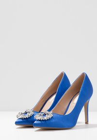 Dorothy Perkins - GLADLY POINTED TRIM COURT - High heels - blue - 4