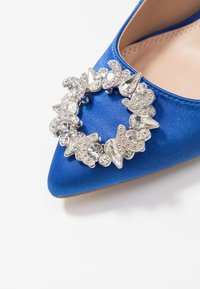 Dorothy Perkins - GLADLY POINTED TRIM COURT - High heels - blue - 2