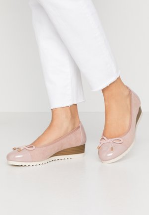 DAISIE BOW FLEXI WEDGE COURT - Kiler - nude