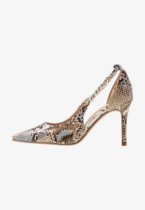 DANE CHAIN DETAIL POINT COURT - High Heel Pumps - multicolor