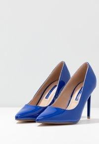 Dorothy Perkins - DESIREE SET BACK COURT - High heels - cobalt - 4