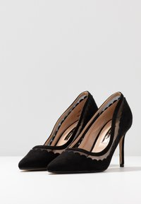 Dorothy Perkins - ELIZA SCALLOP DETAIL COURT - High heels - black - 4