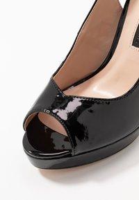 Dorothy Perkins - ENVY  - Peeptoe heels - black - 2