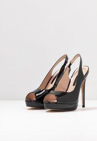 Dorothy Perkins - ENVY  - Peeptoe heels - black - 4