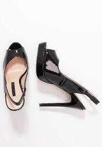 Dorothy Perkins - ENVY  - Peeptoe heels - black - 3