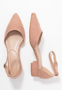 Dorothy Perkins - POLLY TWO PART HEELED  - Czółenka - blush - 3