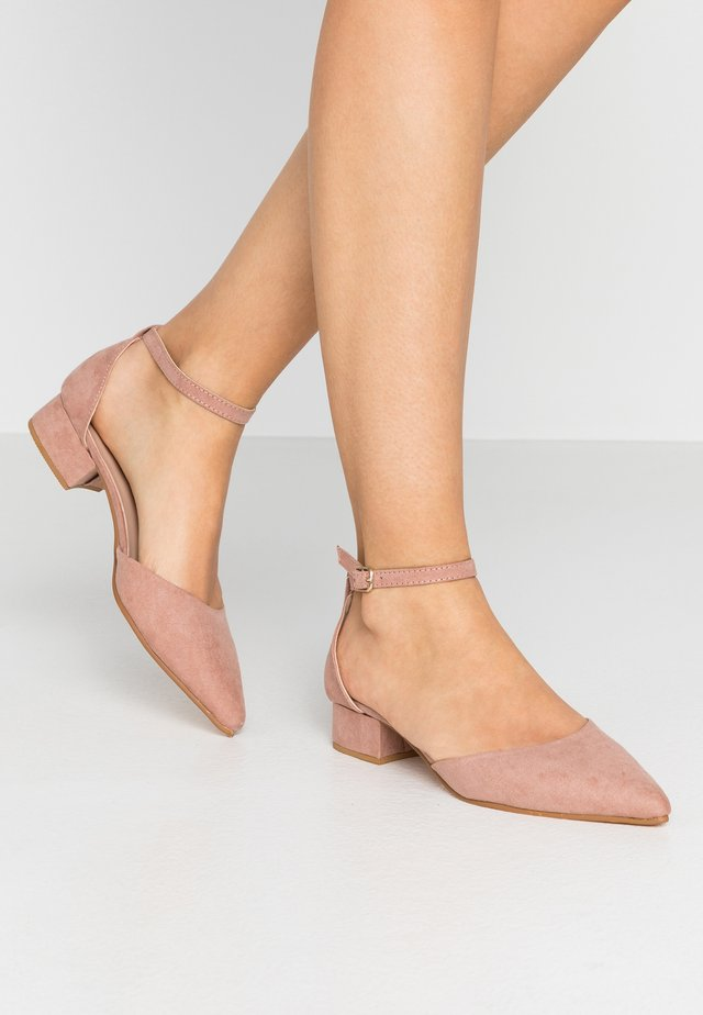 POLLY TWO PART HEELED  - Avokkaat - blush