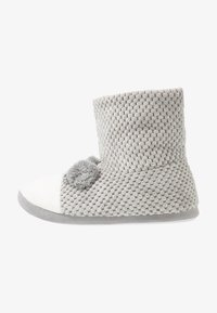Dorothy Perkins - BEAR NOVELTY BOOTIE - Slippers - light grey - 1