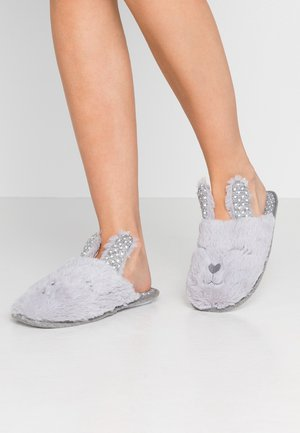 BUNNY NOVELTY MULE - Tofflor & inneskor - light grey