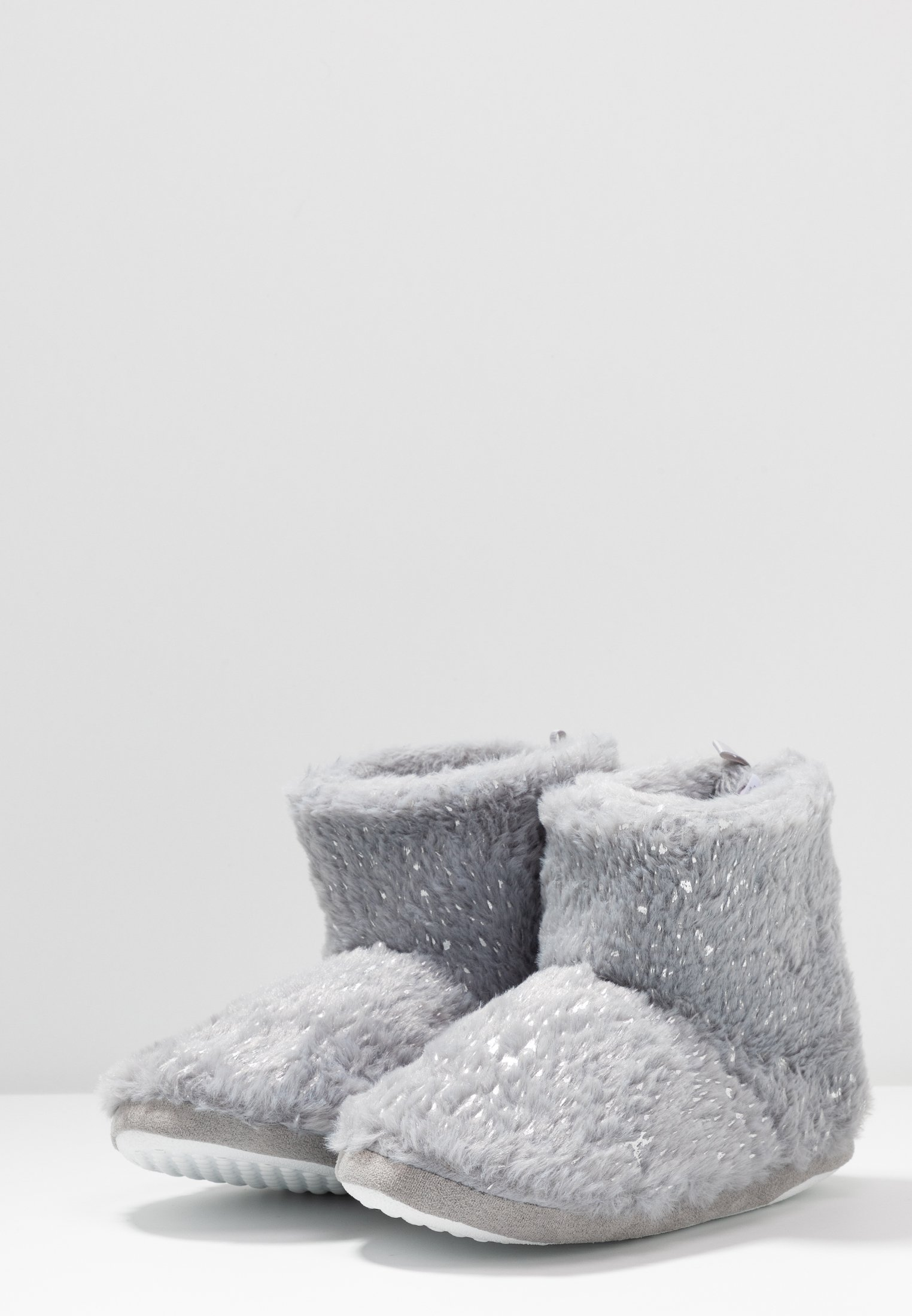Dorothy Perkins FLECK BOOTIE - Hausschuh light grey
