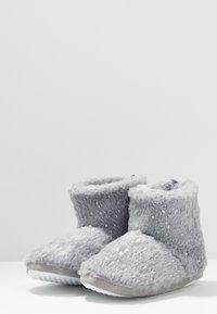 Dorothy Perkins - FLECK BOOTIE - Slippers - light grey - 4