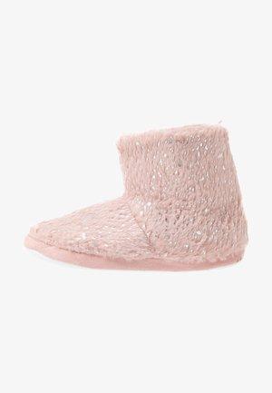 FLECK BOOTIE - Pantofole - pink