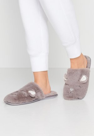 LLAMA NOVELTY MULE  - Slippers - grey