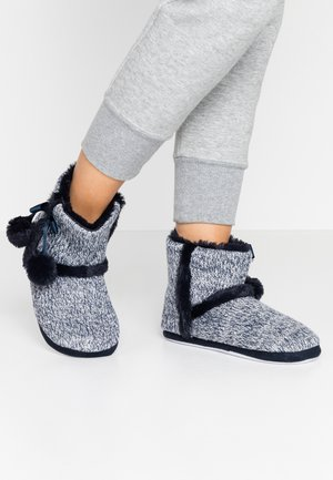 BOOTIE - Slippers - navy