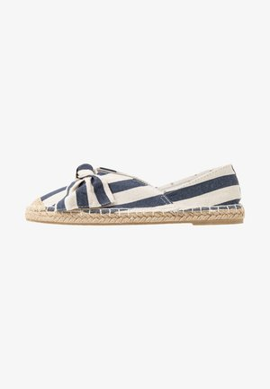 CAROLINA BOW TACKED - Espadrilles - navy