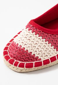 Dorothy Perkins - CANDY STRIPE - Espadrilles - red - 2