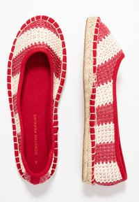 Dorothy Perkins - CANDY STRIPE - Espadrilles - red - 3