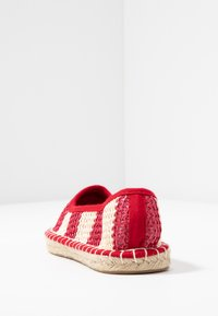 Dorothy Perkins - CANDY STRIPE - Espadrilles - red - 5