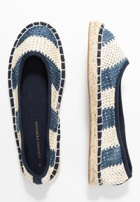 Dorothy Perkins - CANDY STRIPE - Espadrilles - navy - 3