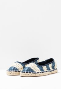 Dorothy Perkins - CANDY STRIPE - Espadrilles - navy - 4