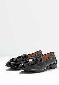 Dorothy Perkins - LANDMARK LOAFER - Loafers - black - 4