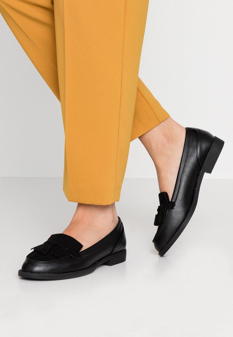 Dorothy Perkins - LAURIE - Nazouvací boty - black