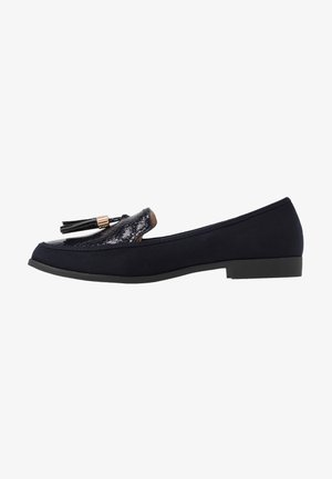 LILLIE LOAFER - Slip-ons - navy