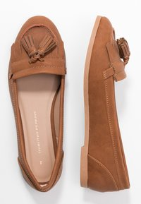 Dorothy Perkins - LATINO FRINGE LOAFER - Mocasines - tan - 3