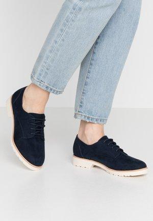 LUSH - Šněrovací boty - navy