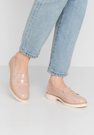 LYLE LOAFER - Slip-ons - nude