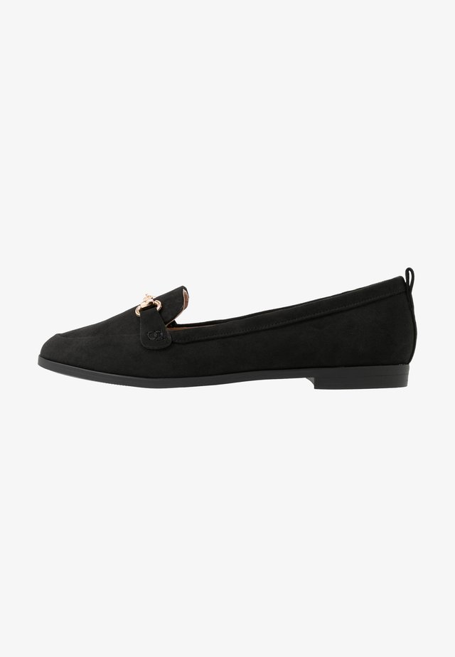LULA - Loaferit/pistokkaat - black