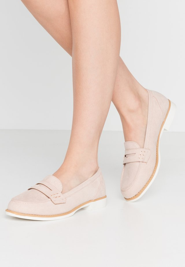 LUTHER PENNY LOAFER - Mocassins - blush