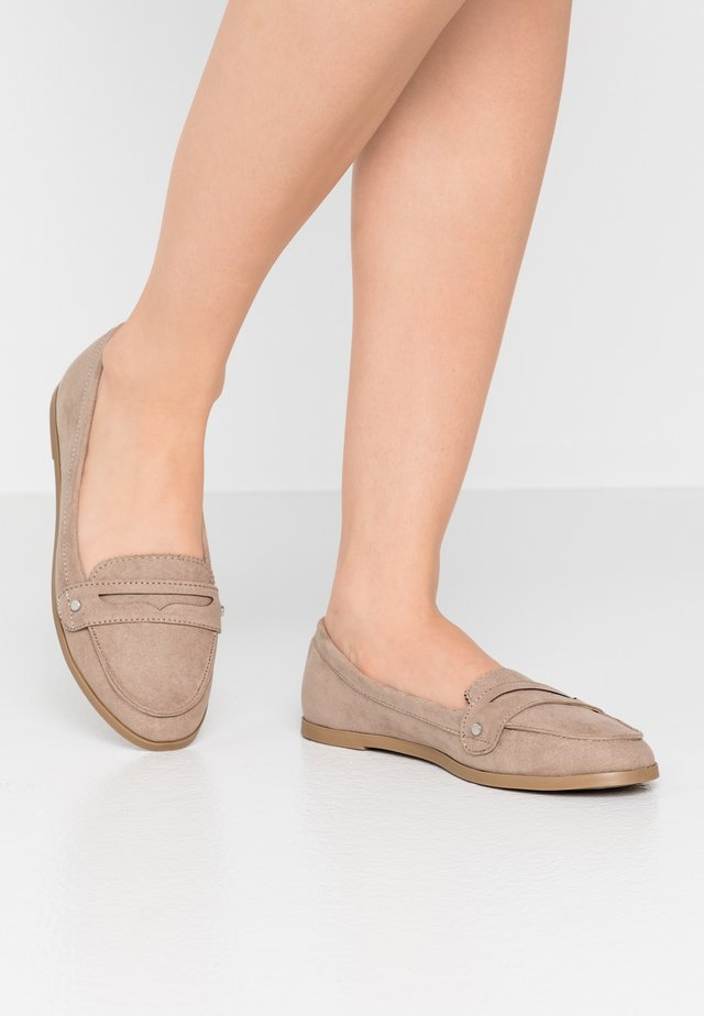 LAUR LOAFER - Slip-ons - taupe