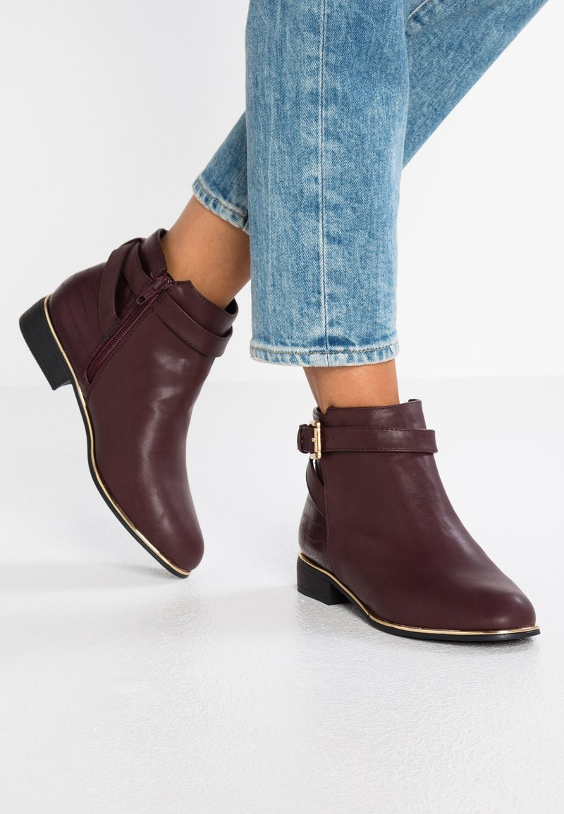 Dorothy Perkins - MAYAN - Ankle Boot - burgundy