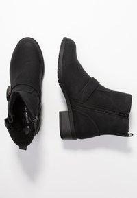 Dorothy Perkins - MUNCH - Cowboy/biker ankle boot - black - 3