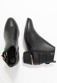 Dorothy Perkins - MACI OPEN SIDED FESTIVAL - Kotníková obuv - black - 3