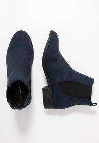 Dorothy Perkins - MORGAN CHELSEA  - Boots à talons - navy - 3
