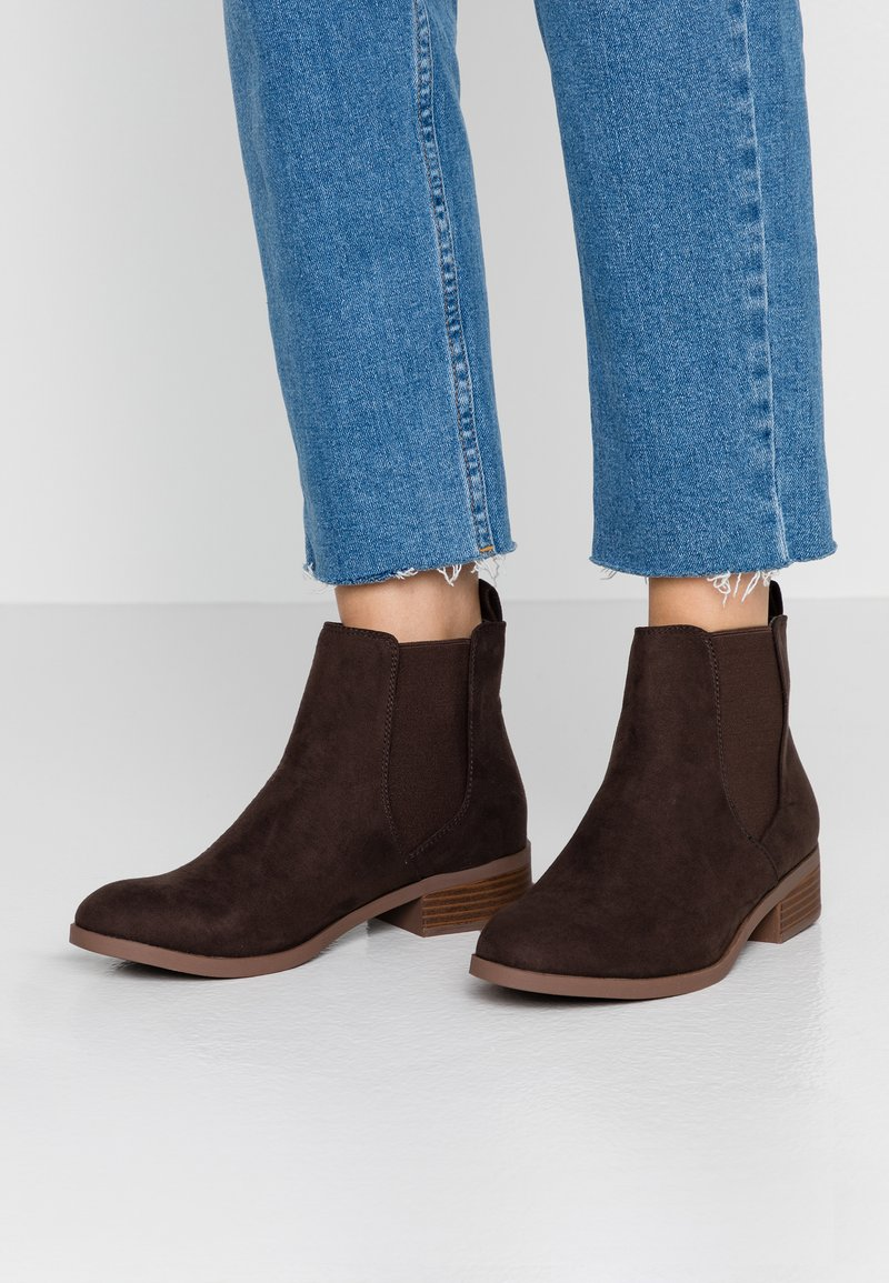 Dorothy Perkins - MORGAN CHELSEA  - Ankle boots - choc
