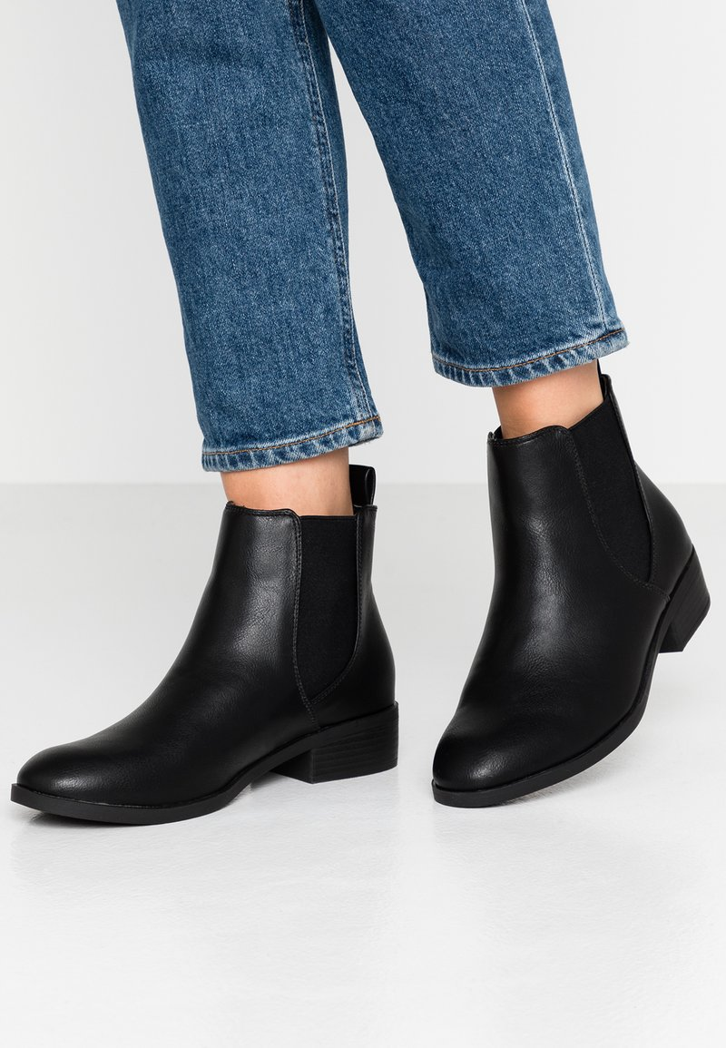 Dorothy Perkins - MORGAN CHELSEA  - Ankle boots - black