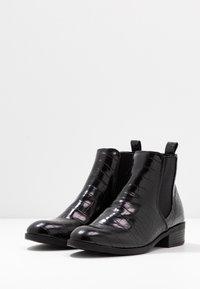 Dorothy Perkins - MORGAN CHELSEA  - Boots à talons - black - 4