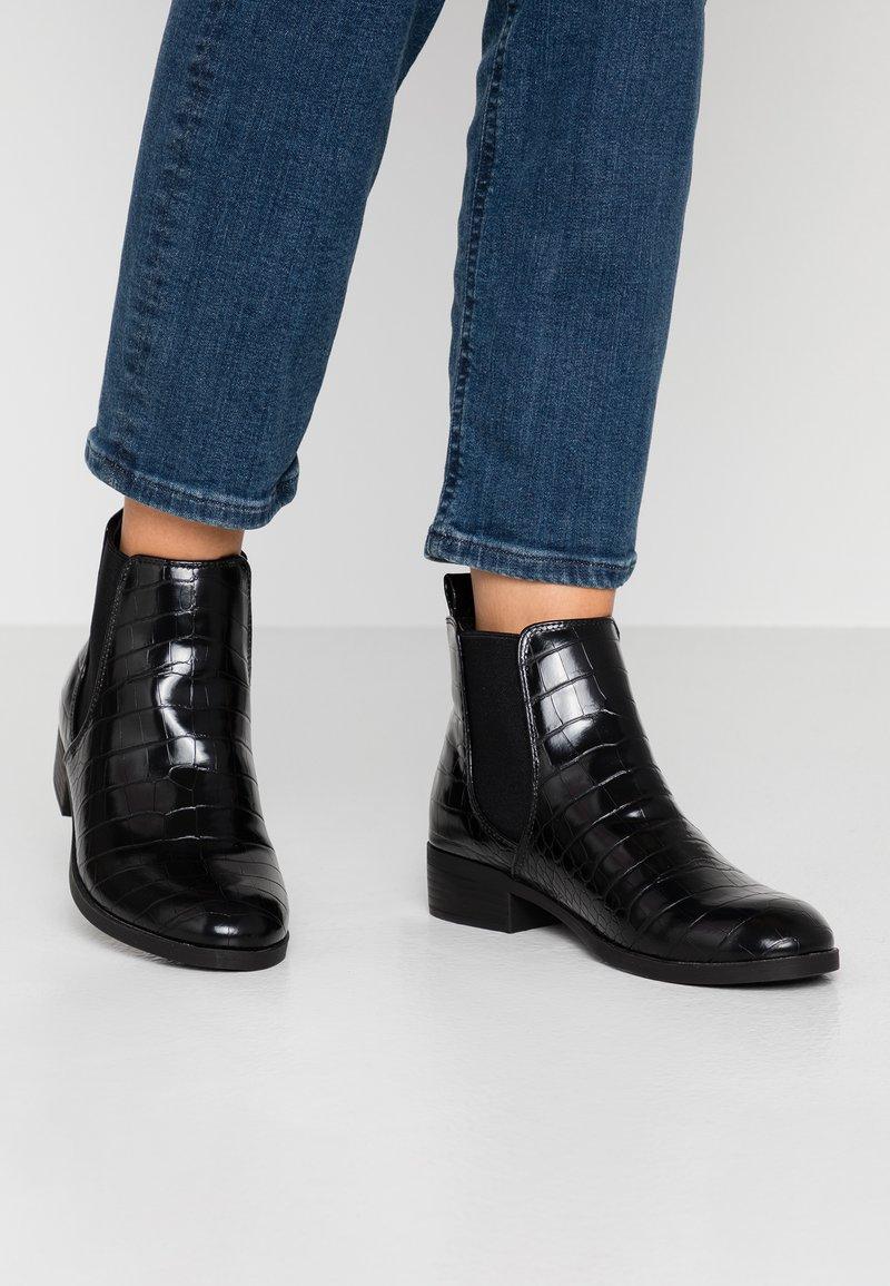 Dorothy Perkins - MORGAN CHELSEA  - Boots à talons - black