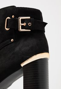 Dorothy Perkins - APPLE GOLD DETAIL BASIC - Ankle boot - black