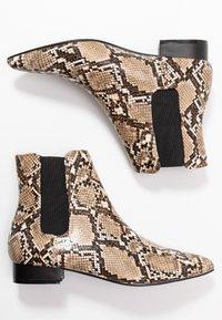 Dorothy Perkins - MAISIE PIXIE FLAT BOOT - Korte laarzen - beige - 3