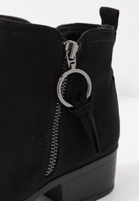 Dorothy Perkins - MYNOR SIDE ZIP RING PULL - Ankle boots - black - 2